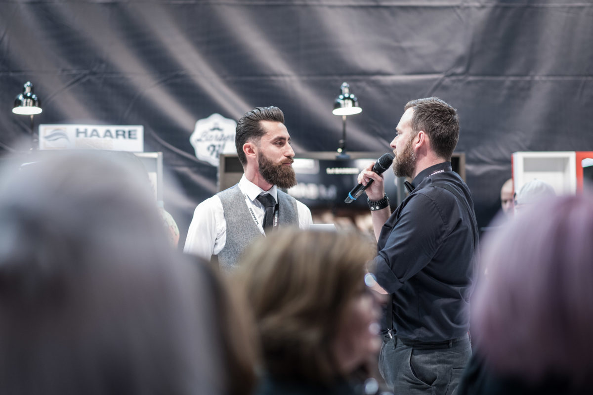 International Barber Awards 2017 - Moderation- www.jens-glatz.com