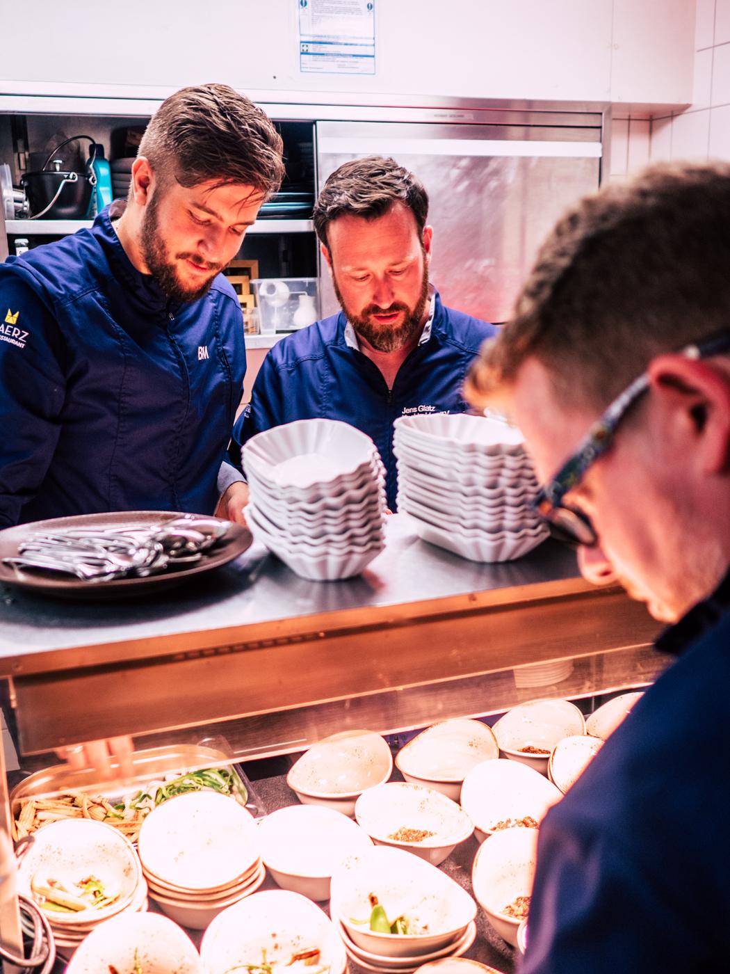 Jens Glatz im Sternerestaurant - www.jens-glatz.com