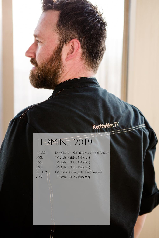 Jens Glatz Termine 2019 - www.jens-glatz.com